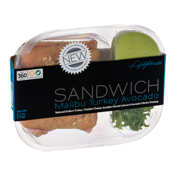 Lifestyle Foods Sandwich Malibu Turkey Avocado
