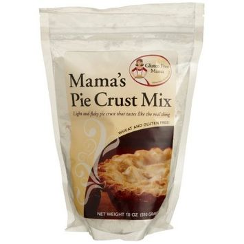 Gluten Free Mama, Mama's Pie Crust Mix, 18-Ounce Pouches (Pack of 5)