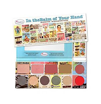 the Balm - In the Balm of Your Hand Greatest Hits Vol 1 Holiday Face Palette