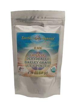 Earth Circle Organics - Dehydrated Barley Grass Powder - 4 oz.