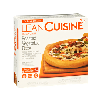 Lean Cuisine Casual Cuisine Deep Dish Roasted Vegetable Pizza