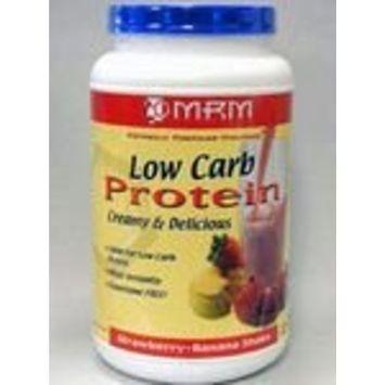 Metabolic Response Modifier MRM Low Carb Protein,Creamy Strawberry-Banana Shake, 1.784-Pound