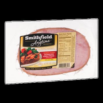 Smithfield Anytime Favorites Hickory Smoked Boneless Ham Steak