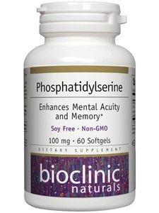 Bioclinic Naturals - Phosphatidylserine 100 mg. - 60 Softgels