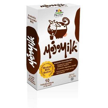 MojoMilk Probiotic, Chocolate Milk, 10-Count