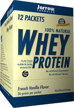 Jarrow Formulas - Whey Protein French Vanilla Flavor - 12 Packets