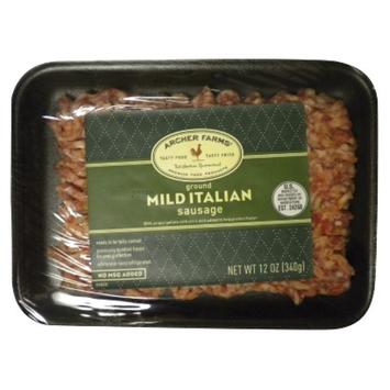 Archer Farms Mild Italian Ground Sausage - 12 oz.