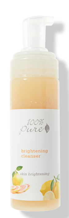 100% Pure Brightening Facial Cleanser