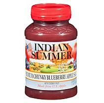 Indian Summer Premium Chunky Blueberry Applesauce (12pk. 23oz.)