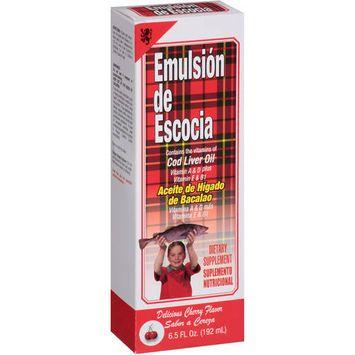 Emulsion Escocia Emulsion De Escocia Cherry 6.5 Oz Vitamin A, D & E