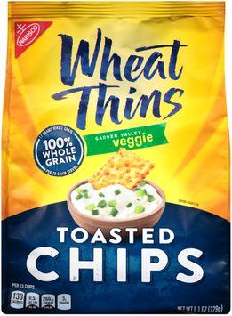 Nabisco Wheat Thins Garden Valley Veggie Toasted Chips