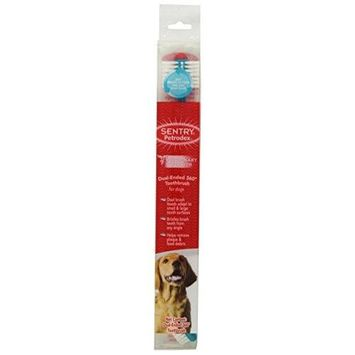 Old West Pet Treats SENTRY Petrodex DualEnded 360 Toothbrush for Dogs