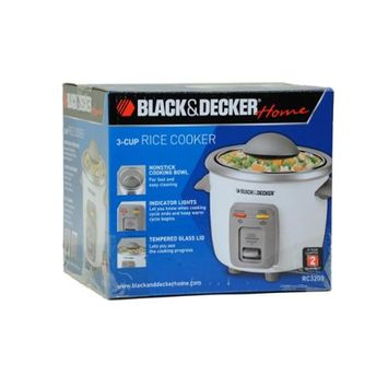 Black & Decker RC3203 3cup Rice Cooker