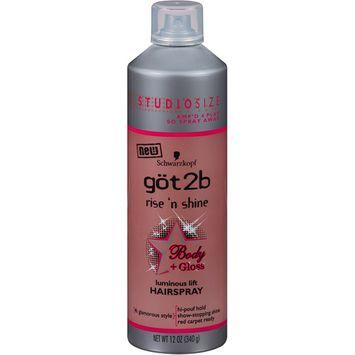 göt2b® Rise n Shine Hairspray