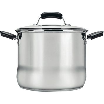 Range Kleen 8-qt. Stainless Steel Covered Stock Pot
