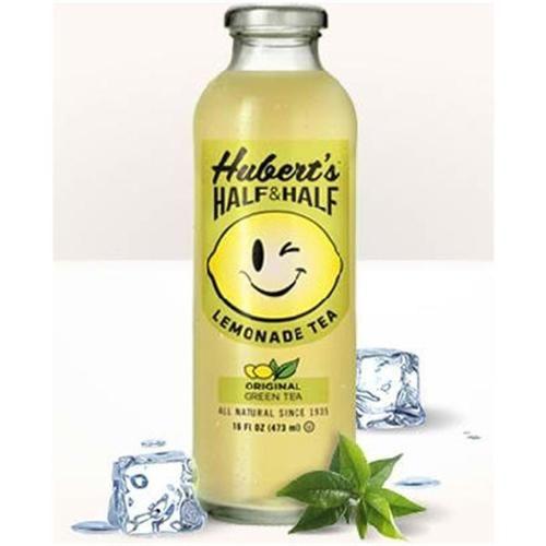 Huberts Half And Half Teas; Original Green Tea 12/16Floz