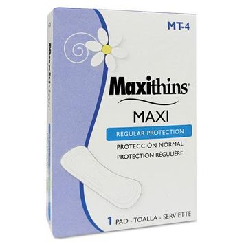 Hospital Specialty Maxithins Thin, Full Protection Pads, 250/Ctn
