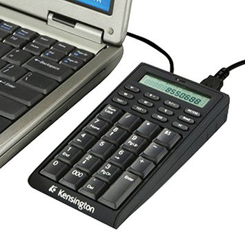 Kensington K72274us Notebook Keypad/calculator With USB Hub