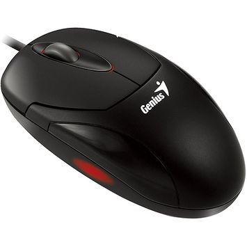 Genius XScroll G5 PS/2 Wired Optical Mouse, Black
