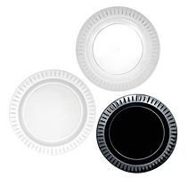 Party Essentials Elegance Plastic Buffet Plates-9