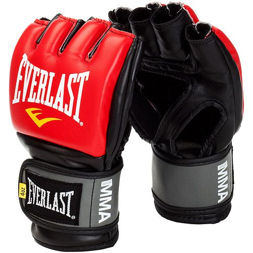 Everlast Pro Style Grappling Gloves Lg/Xl Red