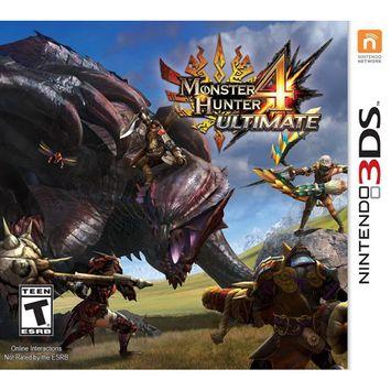 Capcom Monster Hunter 4 Ultimate - Nintendo 3ds