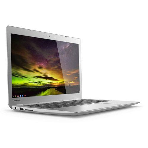 "Toshiba - 13.3"" Chromebook 2 - Intel Celeron - 4GB Memory - 16GB Solid State Drive - Satin Gold"