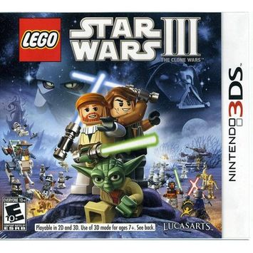Lucasarts Entertainment Company Lego Star Wars III: The Clone Wars (Nintendo 3DS)