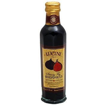 Lucini Savory Fig Balsamico Artisan Vinegar, 8.5 fl oz, (Pack of 6)