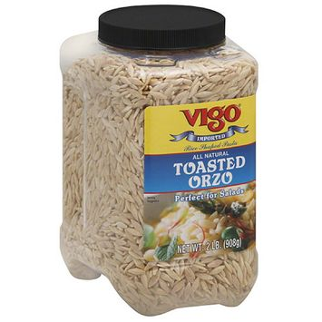 Vigo Toasted Orzo, 32 oz, (Pack of 4)
