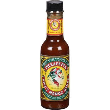 Pickapeppa Spicy Mango Sauce, 5 fl oz, (Pack of 6)