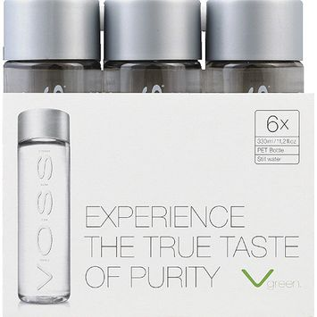 Voss Artesian Water, 11.2 fl oz, 6 count, (Pack of 4)