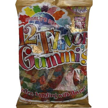 Albanese Gummis, 12 Flavor Gummy Bears, 5 lbs