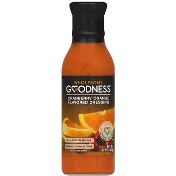 Wholesome Goodness ry Orange Flavored Dressing, 12 fl oz, (Pack of 12)