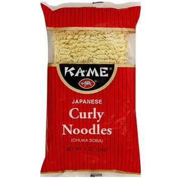 Kame Ka-Me Japanese Curly Noodles, 5 oz (Pack of 12)