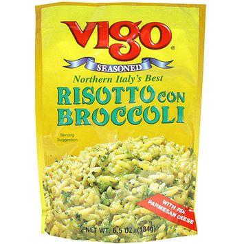 Vigo Seasoned Risotto with Broccoli Mix, 6.5 oz (Pack of 12)