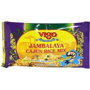 Vigo Jambalaya Cajun Rice Mix, 8 oz (Pack of 12)
