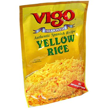 Vigo Authentic Spanish Recipe Yellow Rice, 8 oz (Pack of 12)