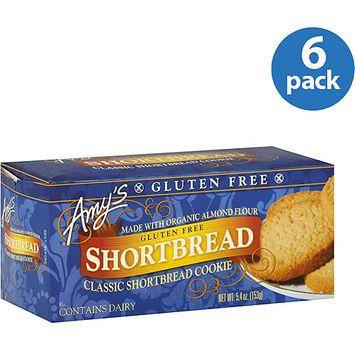 Amy's Kitchen Gluten-free Shortbread Classic Shortbread Cookies