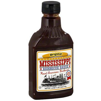 Mississippi Bbq Mississippi Barbecue Sauce Original Barbecue Sauce, 18 oz (Pack of 6)