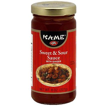 Kame Ka-Me Sweet & Sour Sauce, 8.5 oz (Pack of 6)