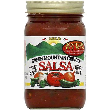 Green Mountain Gringo Mild Salsa, 16 oz (Pack of 6)