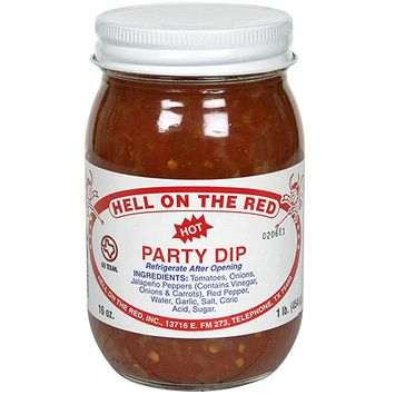 Hell On The Red Hot Party Dip, 1 lb (Pack of 12)