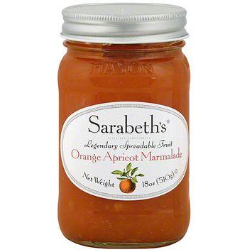 Sarabeth's Orange Apricot Marmalade, 18 oz (Pack of 6)