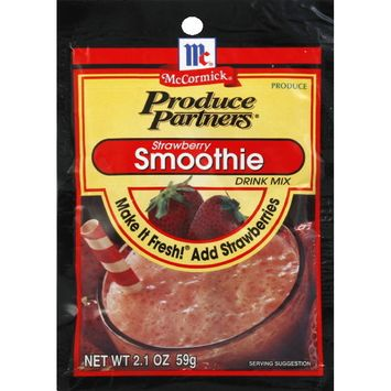 McCormick® Produce Partners Strawberry Smoothie Drink