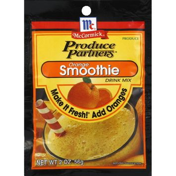 McCormick® Produce Partners Orange Smoothie Drink