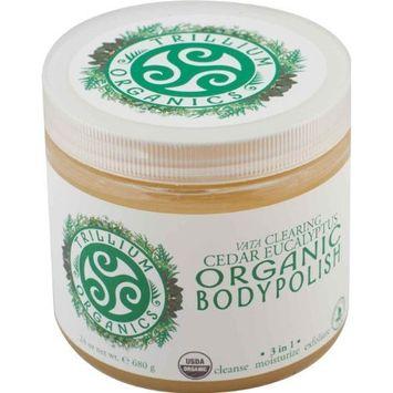 Trillium Organics Clearing 16 Oz -Dis Ogbody Body Polish 24 Oz