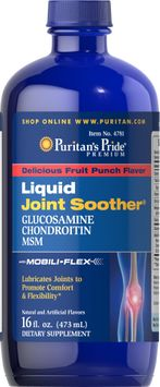 Puritan's Pride 2 Units of Glucosamine, Chondroitin & MSM Liquid-16 oz-Liquid
