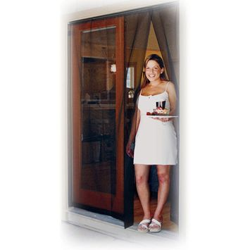Wolf & Moon Products Inc 60 Bug Off Reversible French Screen Door