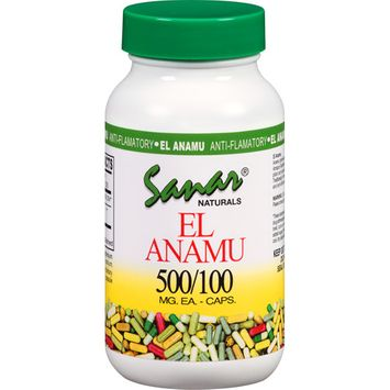 Sanar Naturals El Anamu 500mg/100 Caps